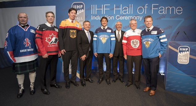 IIHF adds eight to Hall