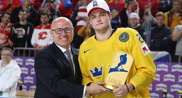 Nylander named MVP
